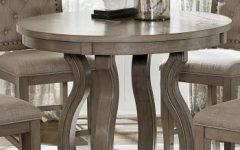 Liesel Bar Height Pedestal Dining Tables