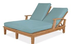 Double Chaise Lounges for Outdoor