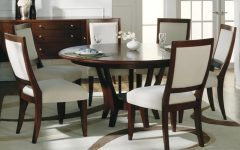 6 Seat Round Dining Tables