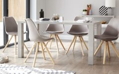 Grey Gloss Dining Tables