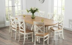 Oval Extending Dining Tables and Chairs