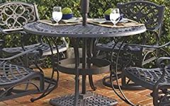 Deonte 38'' Iron Dining Tables