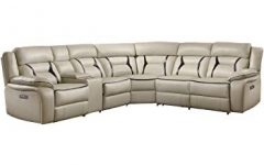 Declan 3 Piece Power Reclining Sectionals with Left Facing Console Loveseat