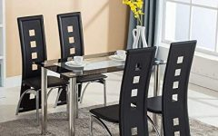 Dining Room Glass Tables Sets