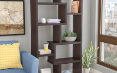 Ansley Geometric Bookcases