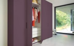 Coloured Wardrobes
