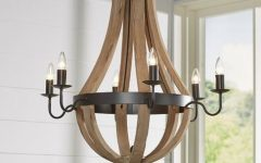 Phifer 6-light Empire Chandeliers