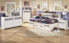 Zayley Full Bed Bookcases