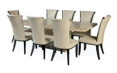 Dining Tables 8 Chairs Set
