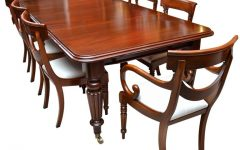 Mahogany Dining Table Sets