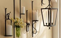 Wall Mounted Candle Chandeliers