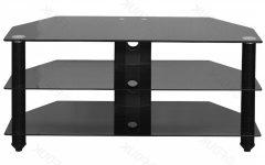 Black Glass Tv Cabinets