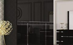 Black High Gloss Wardrobes