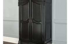 Black French Wardrobes