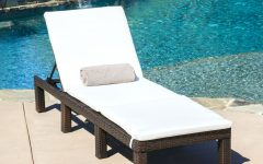 Boca Chaise Lounge Outdoor Chairs with Pillows