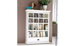 Painted Wood Bookcases