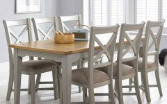 Extending Dining Tables and 6 Chairs