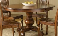 Corvena 48'' Pedestal Dining Tables