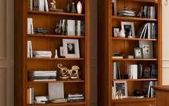 Cherry Wood Bookcases