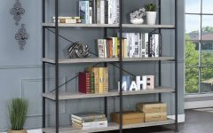 Cifuentes Dual Etagere Bookcases