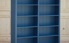 Blue Bookcases