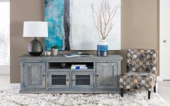 Sinclair Blue 74 Inch Tv Stands