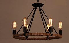 Antique Black Chandelier