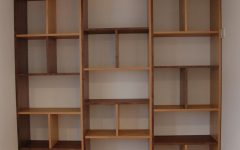 Contemporary Oak Shelving Units