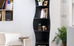 Corner Bookcases by Hokku Designs