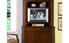 Corner Tv Cabinets with Hutch
