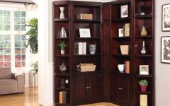 Corner Library Bookcases
