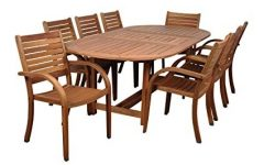 Craftsman 9 Piece Extension Dining Sets