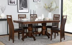Dark Wood Dining Tables