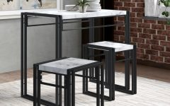Debby Small Space 3 Piece Dining Sets