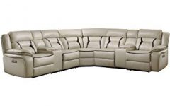 Declan 3 Piece Power Reclining Sectionals with Right Facing Console Loveseat