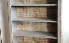 Distressed Bookcases