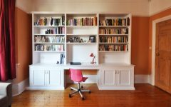 Desk With Bookcases