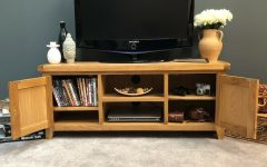 Dillon Oak Extra Wide Tv Stands