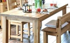 Dining Tables Bench Seat With Back