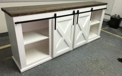 White Rustic Tv Stands