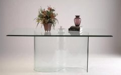 Curved Glass Dining Tables
