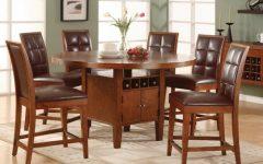 Drew 37.5'' Walnut Solid Wood Dining Tables