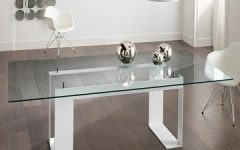 Ina Matte Black 60 Inch Counter Tables With Frosted Glass