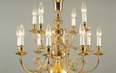 Traditional Brass Chandeliers