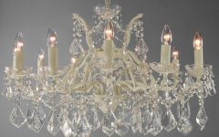 Cream Crystal Chandelier