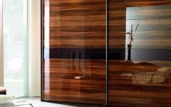 Solid Dark Wood Wardrobes