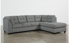 Lucy Grey 2 Piece Sleeper Sectionals with Laf Chaise