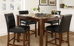 Palazzo 6 Piece Rectangle Dining Sets with Joss Side Chairs