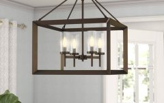 Thorne 4-light Lantern Rectangle Pendants