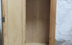 Single Pine Wardrobes with Drawers